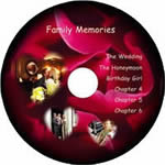 Personalised disc label.